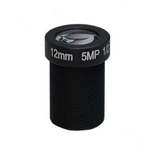 12mm 5Megapixel F2.0 M12 Mount Board Lens IR MTV lens