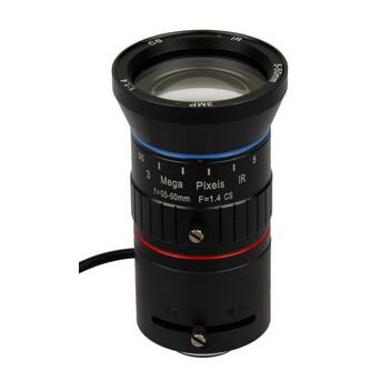 5-50mm F1.4 3Megapixel CS-mount Manual Iris Vari-focal IR Lens