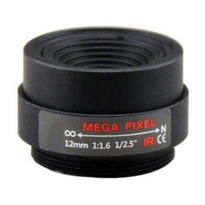 12mm F1.6 3Megapixel CS-mount CCTV Lens Fixed Focal IR Lens