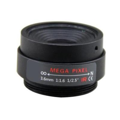3.6mm F1.6 3Megapixel CS-mount CCTV Lens Fixed Focal IR Lens