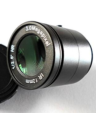 12mm F1.2 3Megapixel CS-mount Manual IRIS CCTV Lens