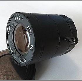 12mm F1.2 Megapixel CS-mount CCTV Lens