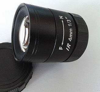 4mm F1.2 Megapixel CS-mount CCTV Lens