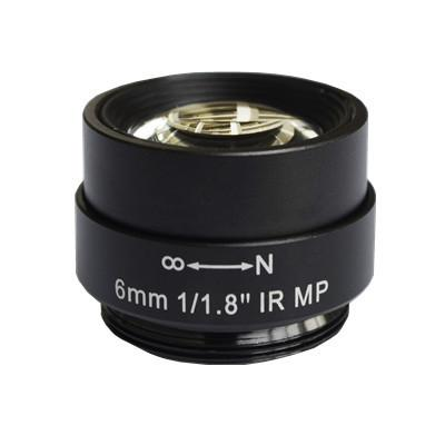 6mm Megapixel CS Mount Non-Distortion IR Lens