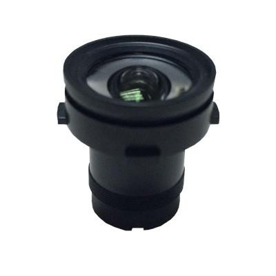 2.7mm 8Megapixel M12 mount low-distortion lens 4K ultra high resolution lens