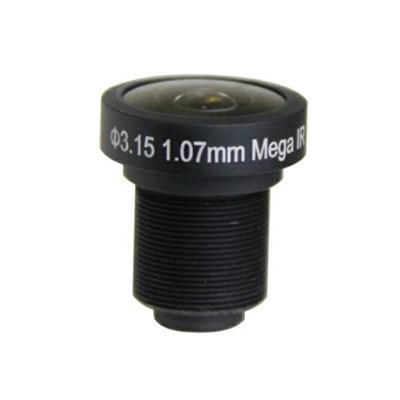 1.07mm 5Megapixel M12 185degrees IR Fisheye Lens