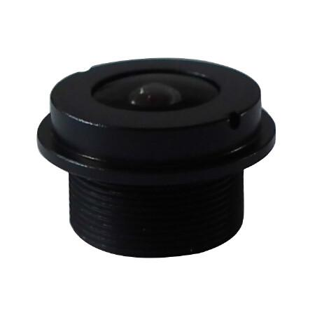 1.3mm Megapixel M12*0.5 Mount wide-angle Fisheye Lens for Vehicle CCTV