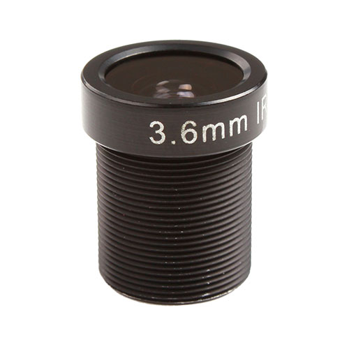1/3 Inch F1.8 3MP 3.6mm MTV Lens for CCTV Security Camera