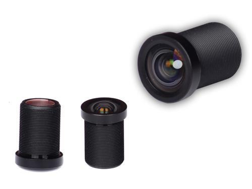 4.3mm 14Megapixel s-mount low-distortion lens for scanners/HD cameras