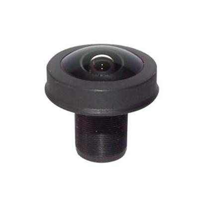 1.1mm 10Megapixel M12X0.5 mount 200degrees Fisheye Lens