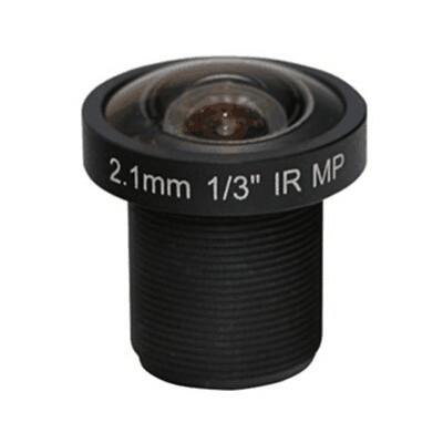 2.1mm 3Megapixel S-mount 170degrees wide angle Mini Fisheye lens