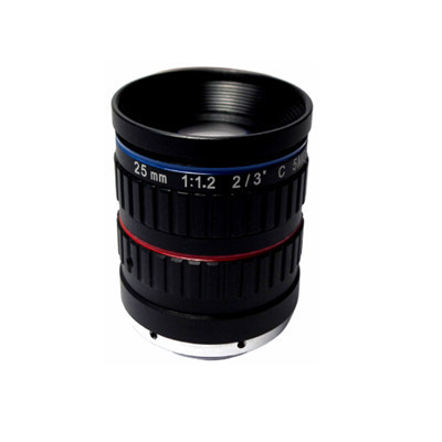 "2/3"" 25mm F1.2 5Megapixel Low-distortion C-mount Lens for Traffic Monitoring"
