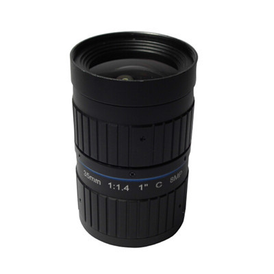 35mm F1.4 8Megapixel Low-distortion C-mount Lens for ITS Traffic Monitoring